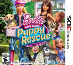 Barbie and her Sisters Puppy Rescue Nintendo 3DS (3DS), Rom Download (USA)