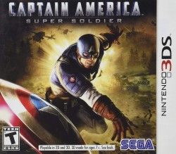 Captain America: Super Soldier Nintendo 3DS (3DS), Rom Download (USA)