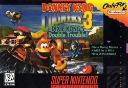 Donkey Kong Country 3-Dixie K Double Trouble Rom, Super Nintendo (SNES) Download (USA)