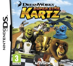 Dreamworks Super Star Kartz Nintendo 3DS (3DS), Rom Download (USA)