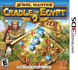 Jewel Master Cradle Of Egypt 2 3D Nintendo 3DS (3DS), Rom Download (USA)