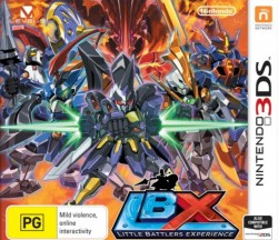 LBX: Little Battlers eXperience Nintendo 3DS (3DS), Rom Download (USA)