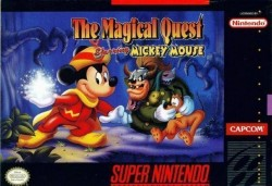 Magical Quest Starring Mickey Mouse, The Rom, Super Nintendo (SNES) Download (USA)