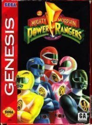 Mighty Morphin Power Rangers Rom, Super Nintendo (SNES) Download (USA)