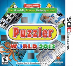 Puzzler World 2013 Nintendo 3DS (3DS), Rom Download (USA)