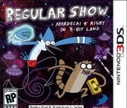 Regular Show: Mordecai and Rigby in 8Bit Land Nintendo 3DS (3DS), Rom Download (USA)