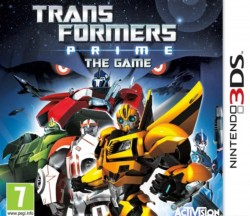 Transformers Prime Nintendo 3DS (3DS), Rom Download (USA)