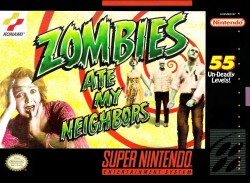 Zombies Rom, Super Nintendo (SNES) Download (Europe)